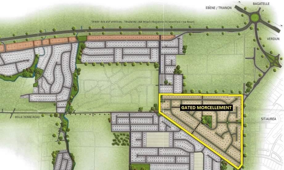 Land  For Sale In Highlands Rose, gated community