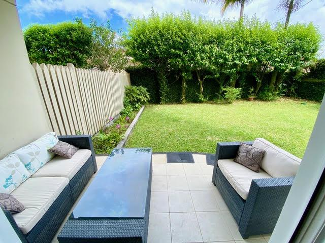 Curepipe, Center – Three bedroom apartment with private garden